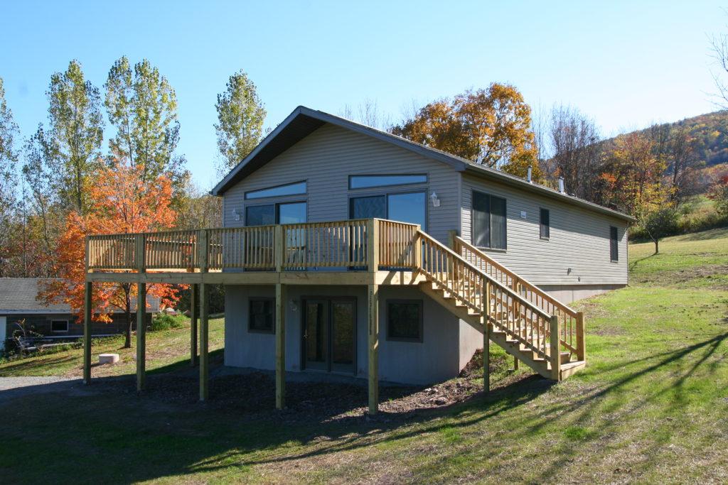 Ranch chalet modular home plans