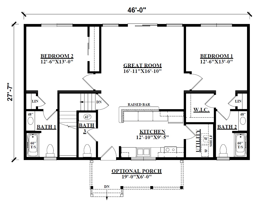 Log Cabin Floor Plans - Kintner Modular Homes, NEPA builder