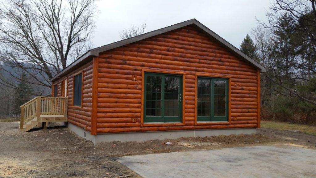 Ranch Log Home