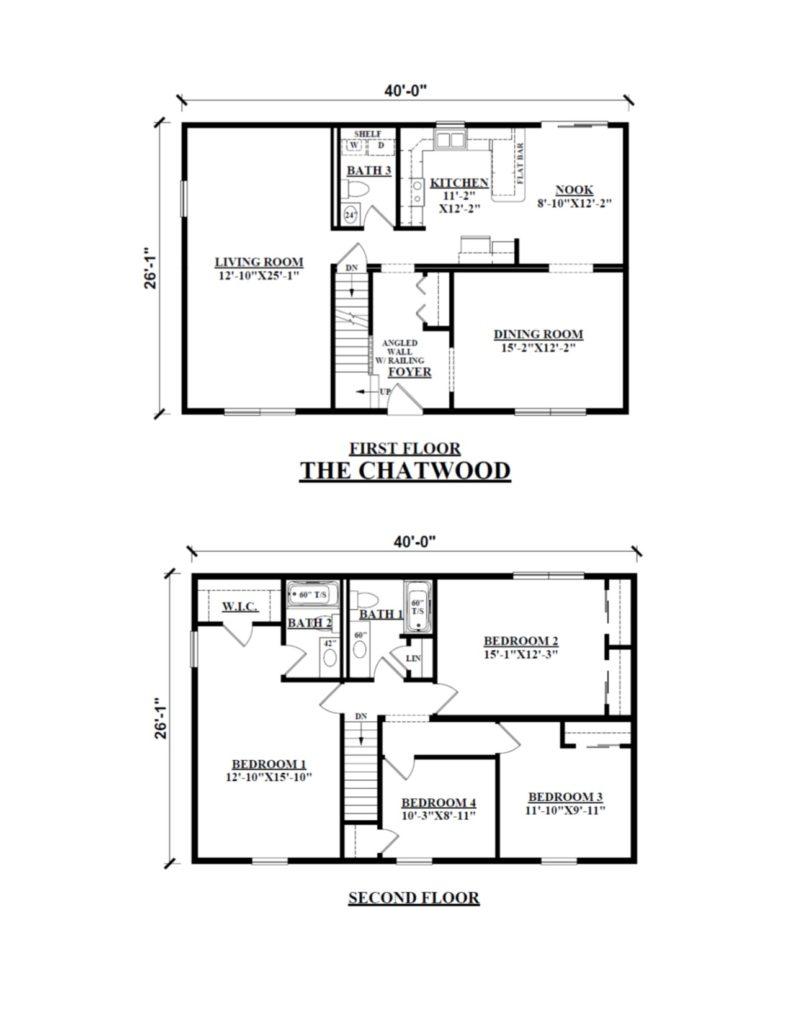 two story modular homes floor plans kintner homes gallery nepa