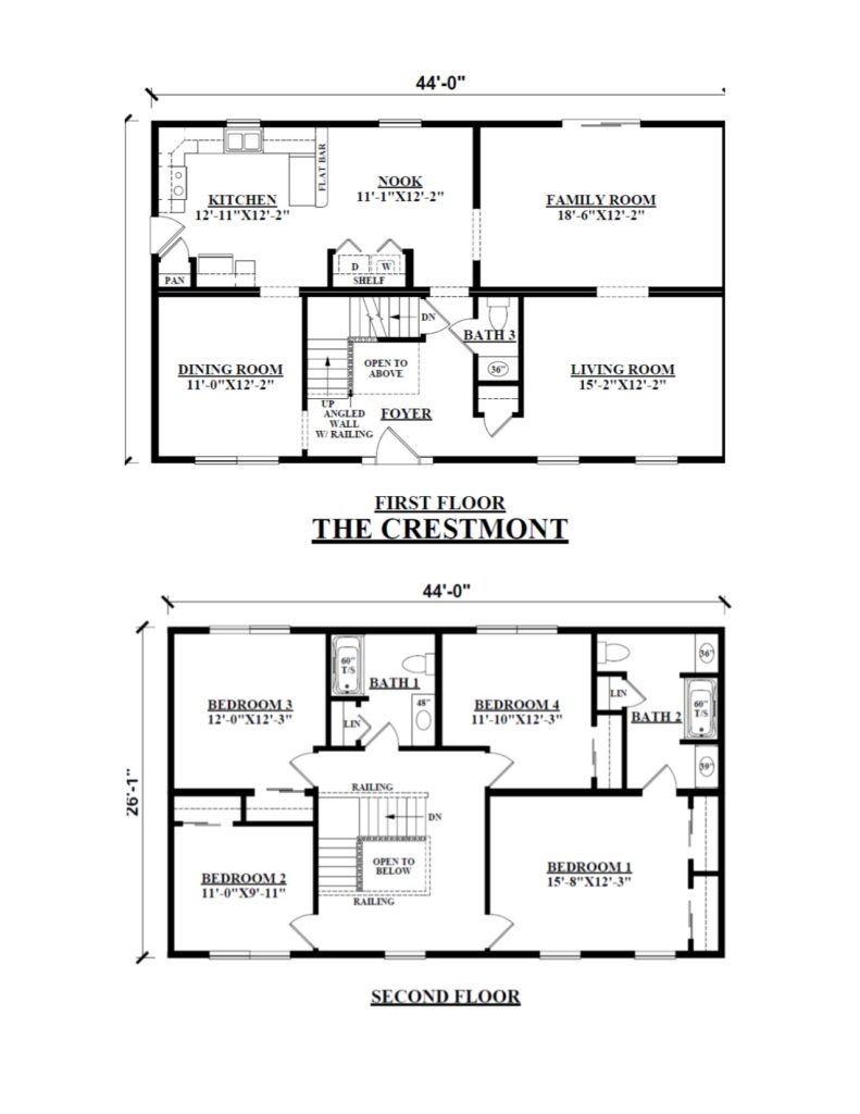 100 Two Story Floor Plans 17 Best 1000 Ideas About