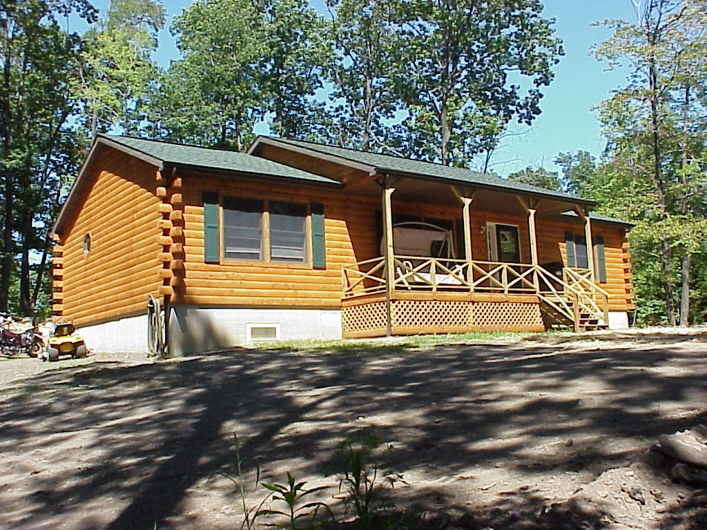 cabin to from in log pa valley co details finish years sale builders poconos for service inc over prep construction cabins lehigh home lot