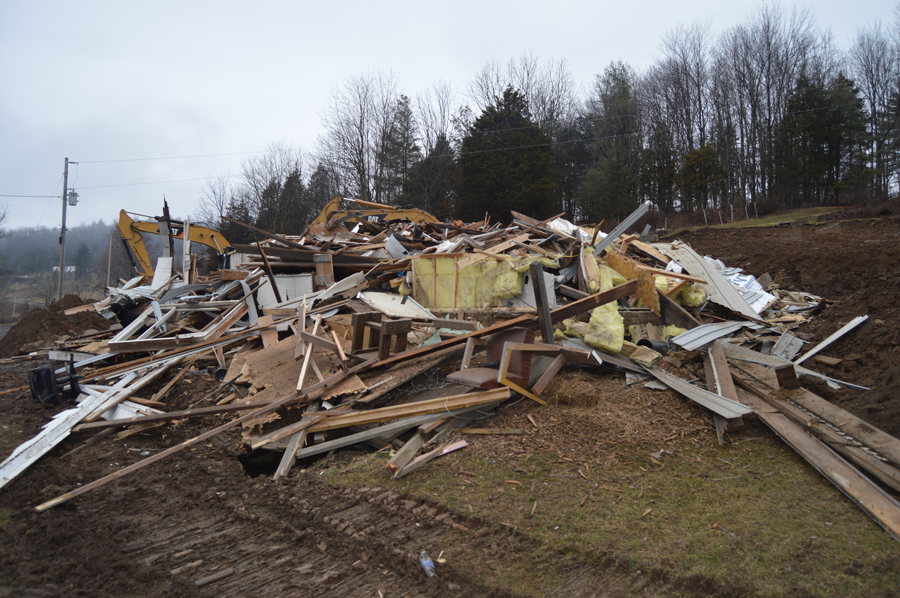 Just like our basement and wall sets, house demolitions typically take about a day.