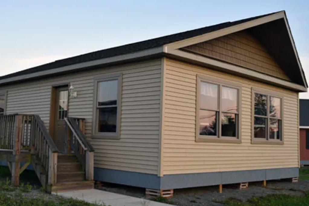 "Tiny Style Modular Home, ""805 sq ft,"" Model #8"